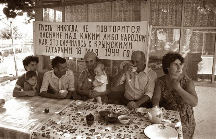 Кримські татари в Криму 1989