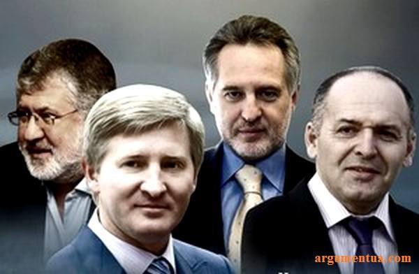 Укр. олігархи