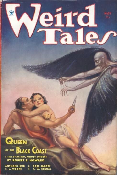 Ілюстрація до новели «Королева чорного узбережжя»